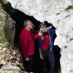 Gratka przyrody nieożywionej- Jaskinia Walońska w Podgórkach