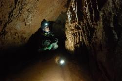 017. Wycieczka do jaskiń Gór Kaczawskich Marian Bochynek.JPG