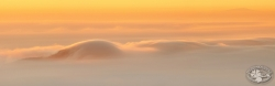 Inwersja widoczna z Lasockiego w stronę Gór Kruchych